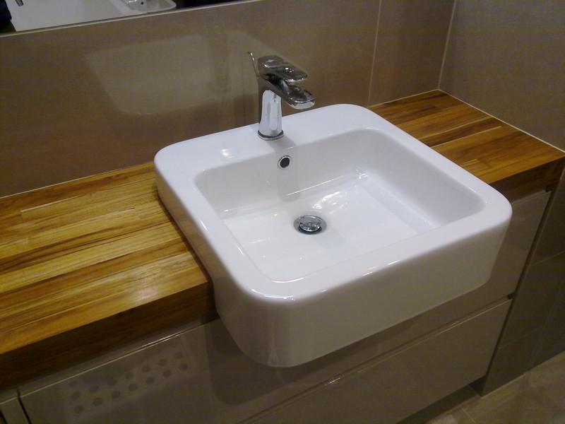 Kalinowice Blat Teak łazienka Drewniane Podłogi Schody