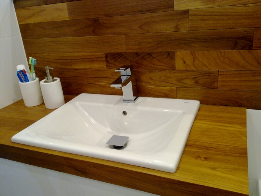 Zamość Blat Teak łazienka Drewniane Podłogi Schody